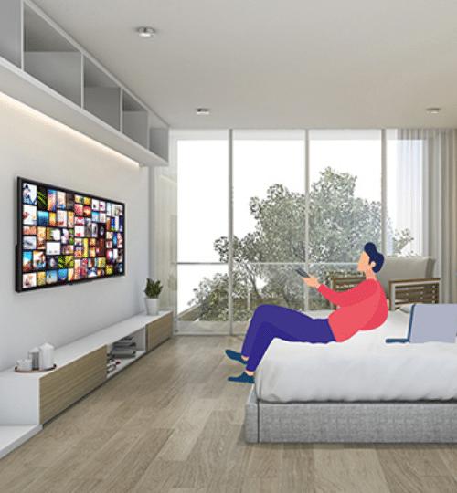 solution TV interactive pour les hôtels