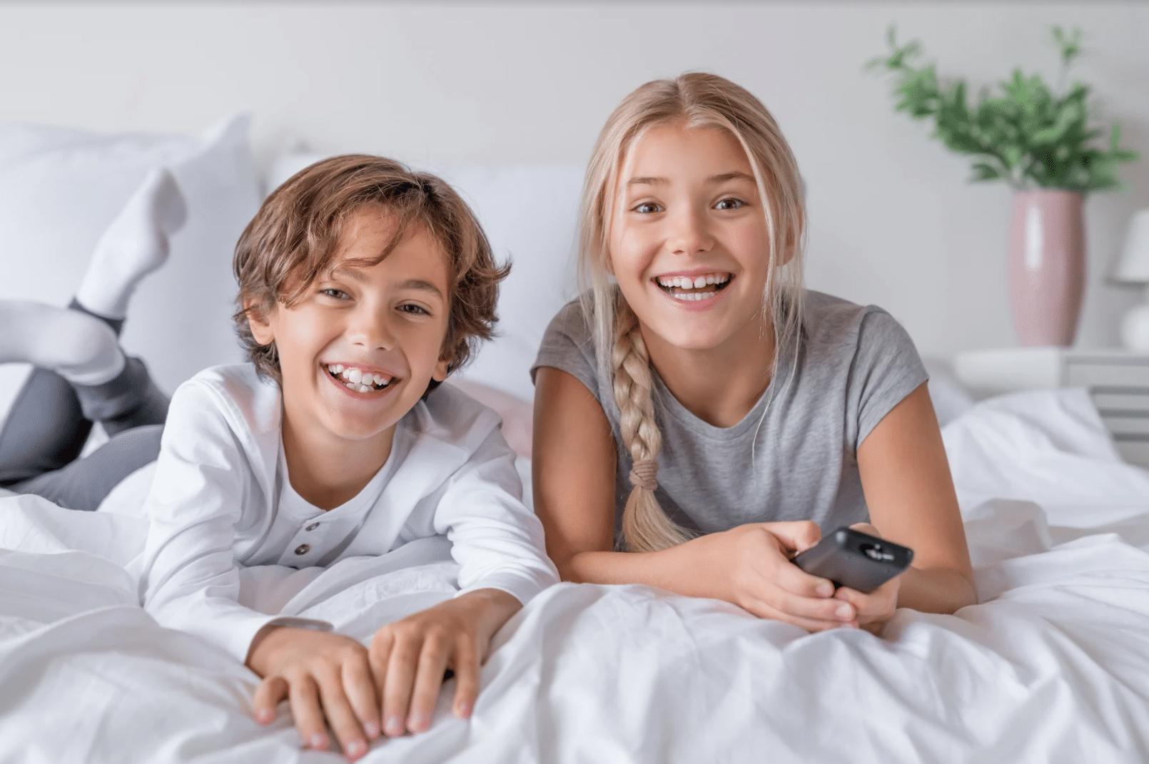 enfants TV connectée