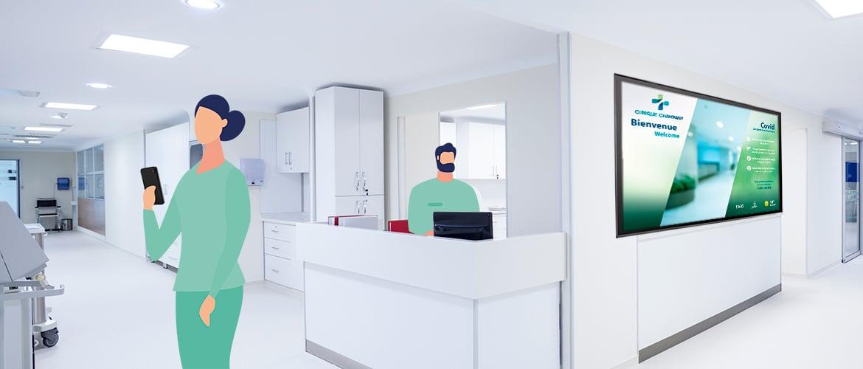 TV connectée établissements de santé