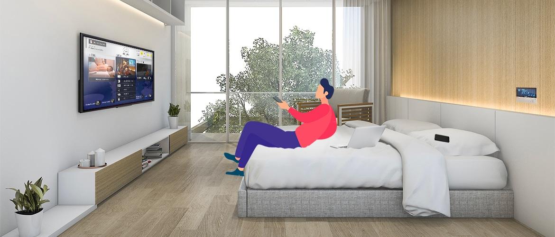 solutions connectées pour les hôtels