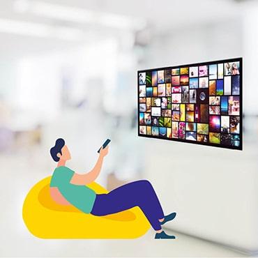 utilisateur TV connectée