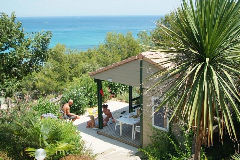 emplacement camping avec vue sur mer